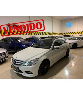 MERCEDES BENZ E350 CDI Coupé CDI BE AUT!!AMG!!NACIONAL!!TECHO!!IVA!!